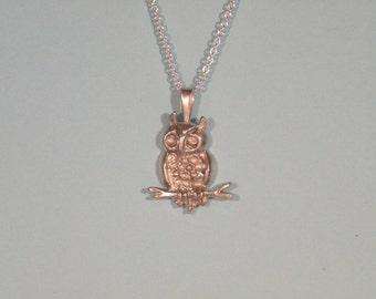 Owl Pendant 2