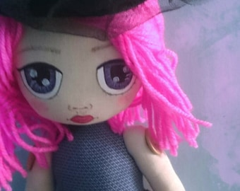 Ren,Hand made cloth Rag doll for gifts,birthday,kids