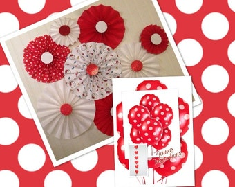 Hello Kitty PARTY BOX-RED-