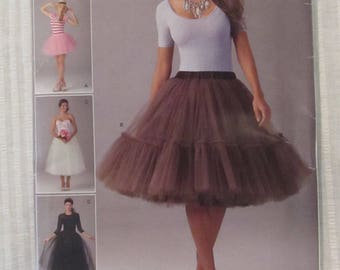Simplicity 0521 Size 4.6.8.10.12 Ladies Tulle Skirt 2014 Andrea Schewe