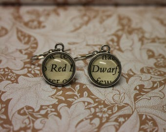 Red Dwarf Earrings ~ Grant Naylor ~ Better Than Life ~