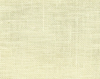"""28 Count Pre-Packaged Linen by Wichelt - Cream - Fat Quarter  (18"""" x 27"""")"""