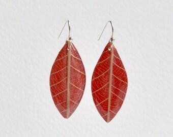Leaf Shaped Earrings