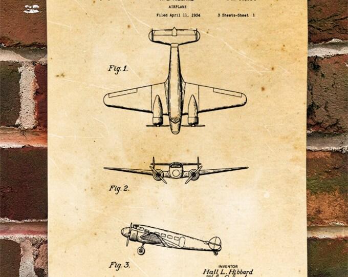 KillerBeeMoto: Duplicate of Original U.S. Patent Drawing For Vintage Lockheed Martin Electra Design