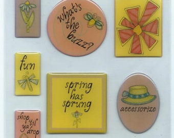 Provo Crafts Designs by Leere Epoxy Stickers Seasons Collection - Spring #SC034