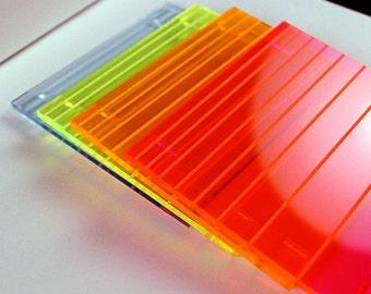 Neon Coasters // Log(arithmic) Math