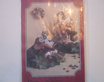 Mother Goose doll pattern, The Buckeye Tree, #163,vintage