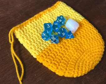 Dice Bag with 7-Dice Set