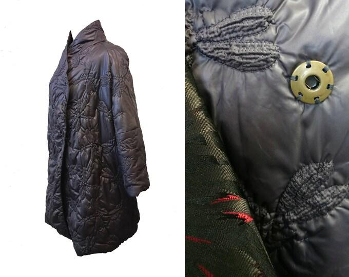 SALE unique piece dragonfly coat Cocoon size XL / DE44
