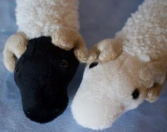 Snuggle Snake - Sheep