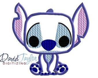 Pop Stitch - 4x4, 5x7 and 6x10 in 9 formats - Applique - Instant Download - David Taylor Digitizing