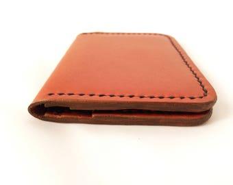 Frank Henry Cardholder wallet Cognac