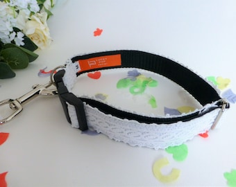 antique cotton lace adjustable collar