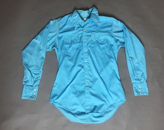 Vintage western shirt / vintage mens western shirt / snap western shirt / button down shirt / long sleeve shirt / 8246