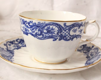 Royal worcester teacup and saucer