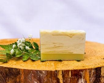 Lemon Vanilla Natural Handmade Soap