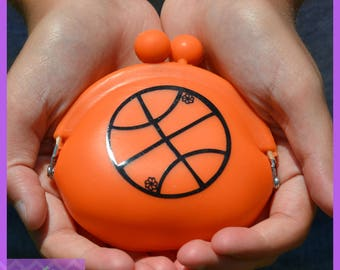 Basketball Gift - Basketball Team Gift - Basketball Girl Silicone Coin Purse - Basketball Mom - Basketball Player - Basketball Coach