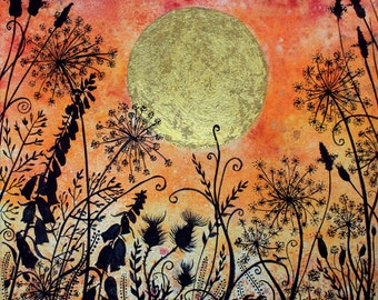 Midsummer Magic and Moonlight- limited edition print no 21/250