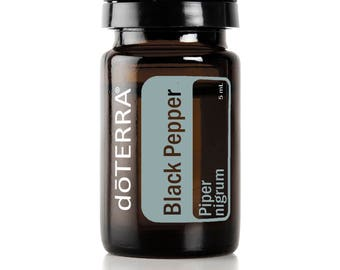Doterra Black Pepper Essential Oil 5mL bottle