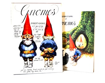 Gnomes & The Pop-Up Book of Gnomes by Poortvliet