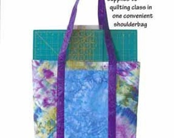 Totally Awesome Toolbag by Karen West - For the Love of Fabric