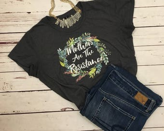 The Resistance//Mother Knows Best//Tshirt//Breastfeeding Shirt//Lactivista