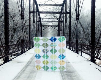 Thunder Bridge Quilt Pattern