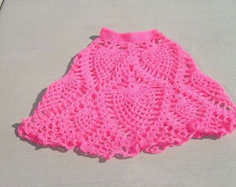 Pineapple Delight CROCHET PONCHO PATTERN