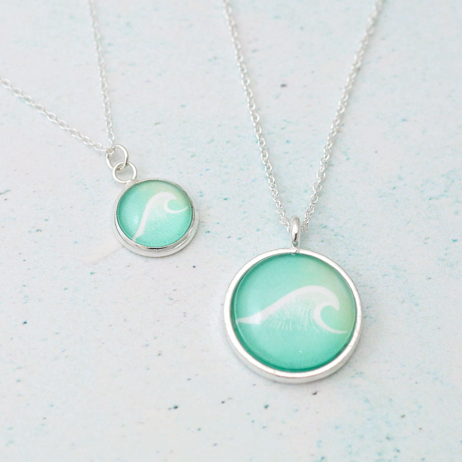 photo wave ocean the fullxfull il lover pendant sea gallery thalassophile jewelry listing a of