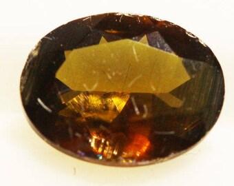 Enstertite 1.135cts Oval Cut 8.10 x 6.26mm Sri Lanka H6-7.5 Y9374 Brown Gem Loose Faceted Gemstone Collector Gemology Gemological