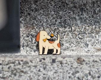 Dog Enamel Pin
