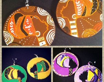 On and On Headwrap Earrings (Mamas)