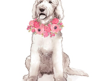 Doodle with Flowers