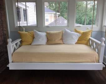 twin bed porch swing - Porch Swing Bed