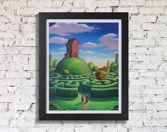 Finding Our Way Home Framed Print, by Chris Pepper