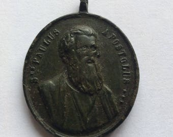 Very rare! RRR Medallion Apostol Paulus, St. Petros