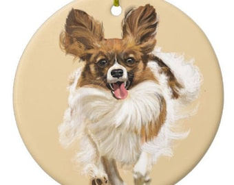 Chihuahua Ornament Customizable With Name!