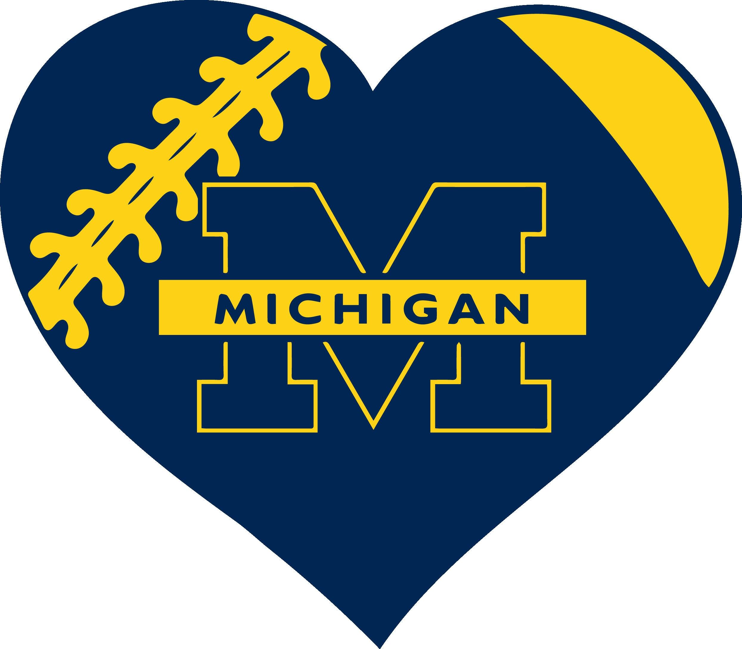25 off michigan wolverines football heart monogram for zoom buycottarizona