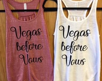 Vegas before Vows - Made to Order Tanks