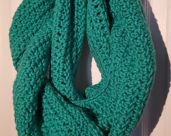 Turquoise Infinity Scarf