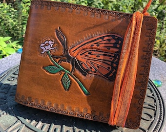 Monarch Leather Journal