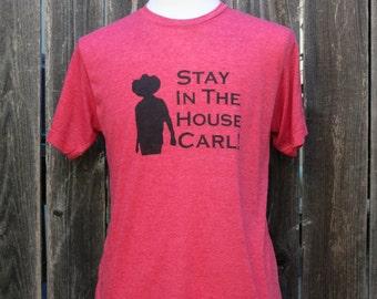 Walking Dead Carl Screenprinted Shirt