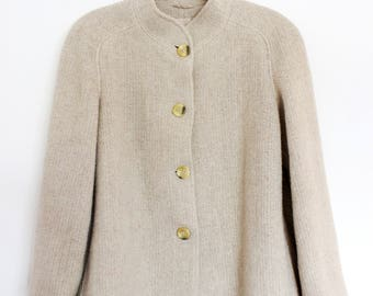 Vintage  wool coat jacket size S/M very nice made in Austria