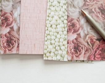 floral stationery, stationary cards, stationery set, blank cards, blank note cards, note card set, modern stationary, girlie stationery