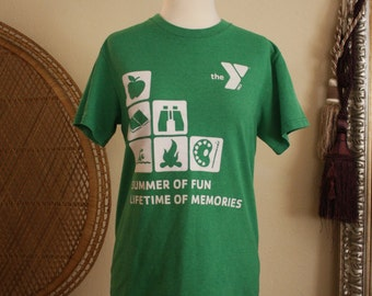 YMCA camper shirt small