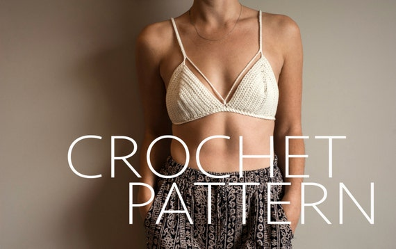 The Bralette/Bikini CROCHET PATTERN