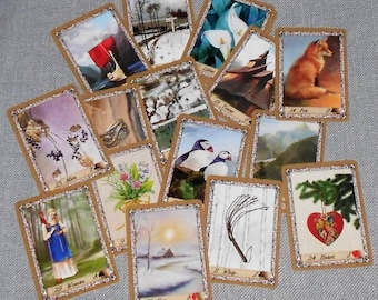 Nordic Lenormand Fortune Telling Oracle 36 Cards by Lynn Boyle
