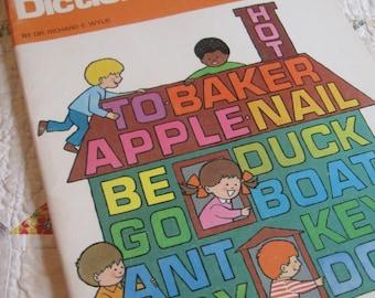 Vintage Preschool Picture Dictionary Workbook