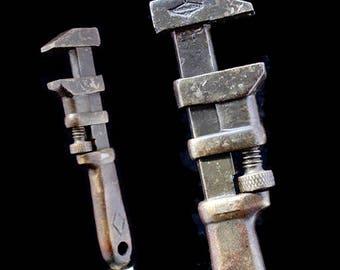 Beer Tap Handle: Vintage Monkey Wrench Beer Pull (Sm)