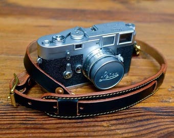 S.F.K. Leather Camera Strap